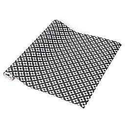 Con-Tact® Geo Diamond Adhesive Shelf Liner in Grey