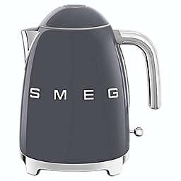Smeg 50s Retro 1.7-Liter Fixed Temperature Kettle in Slate Grey