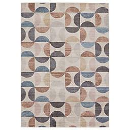 Jaipur Living Marcelo Geometric 6'7 x 9'6 Area Rug in Cream/Multi