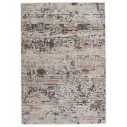 Jaipur Living Nella Abstract 6'7 x 9'6 Area Rug in Grey/Tan