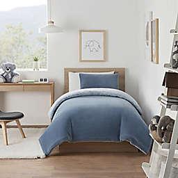 UGG® Coco Dawson 3-Piece King Comforter Set in Denim
