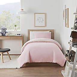 UGG® Coco Dawson 3-Piece Full/Queen Comforter Set in Peach