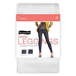 No Nonsense® X-Large Denim Legging in White