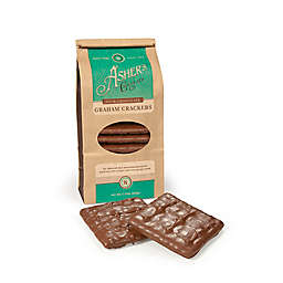 Asher's Chocolate® 7.5 oz. Milk Chocolate Covered Graham Crackers in Coffee Bag