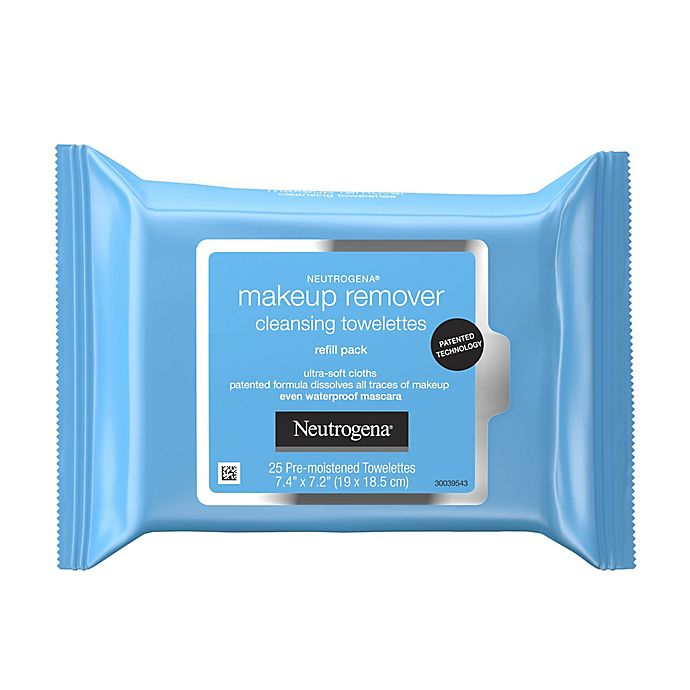 Alternate image 1 for Neutrogena® 25- Count Makeup Remover Cleansing Towelettes Refill Pack