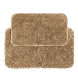 Nestwell™ Recycled Polyester 2-Piece Bath Rug Set in Brown