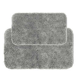 Nestwell™ Recycled Polyester 2-Piece Bath Rug Set in Chrome