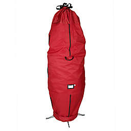 Santa's Bags Upright Christmas Tree Storage Bag in Red