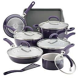 Rachael Ray™ Create Delicious Nonstick Aluminum 13-Piece Cookware Set in Purple
