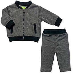 Kapital K™ 2-Piece Bomber Jacket and Pant Set in Grey/Black