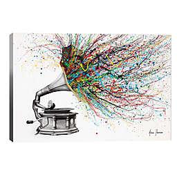 iCanvas Radical Rhapsody 12-Inch x 8-Inch Canvas Wall Art