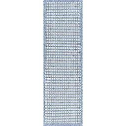 Tayse Rugs Denver Dickens 2'3 x 7'3 Indoor/Outdoor Runner in Blue