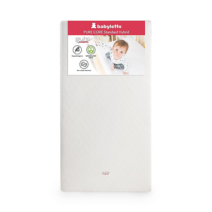 Alternate image 1 for Babyletto Pure Core Crib Mattress with Hybrid Cover