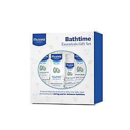 Mustela® 4-Piece Bathtime Essentials Gift Set