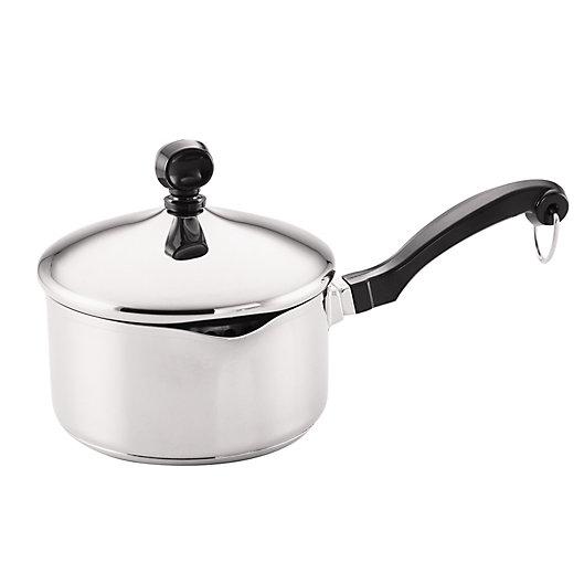 Alternate image 1 for Farberware® Classic Stainless Steel 1-Quart Sauce Pan