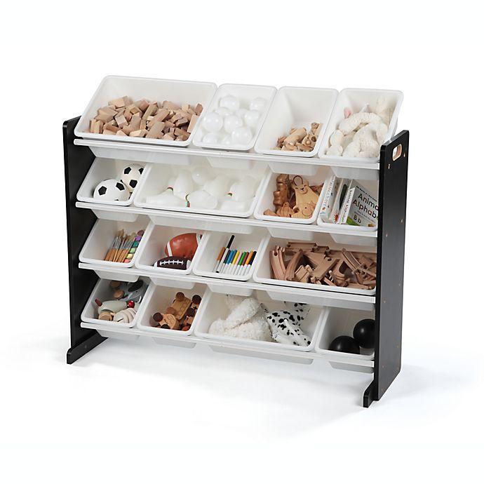 Alternate image 1 for Humble Crew Super-Sized Toy Organizer in Espresso/White