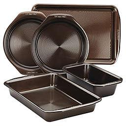Circulon® Non-Stick 5-Piece Bakeware Set in Chocolate