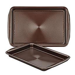 Circulon® Nonstick 2-Piece Baking Pan Set in Chocolate
