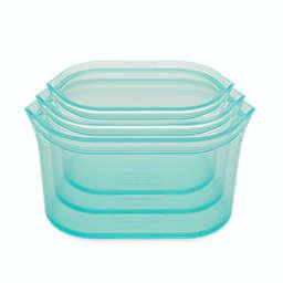 ZipTop™ 3-Piece Reusable Food Storage Dish Set in Teal