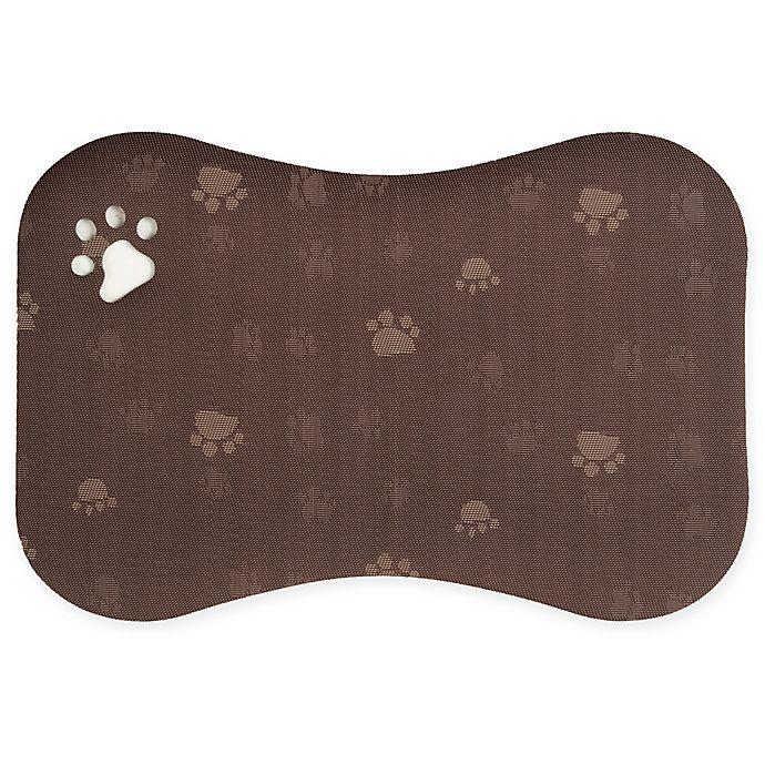 Alternate image 1 for Great Bay Home Waterproof Pet Feeding Mat