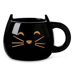 Jumbo Black Cat Mug