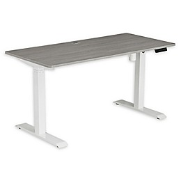 Techni Mobili Automatic Sit to Stand Desk in Grey