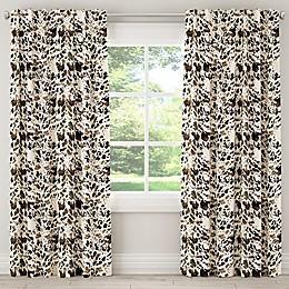 Skyline Furniture Cow Rod Pocket/Back Tab Window Curtain Panel