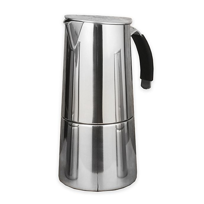 Alternate image 1 for ISLA Stainless Steel Stovetop Espresso Maker