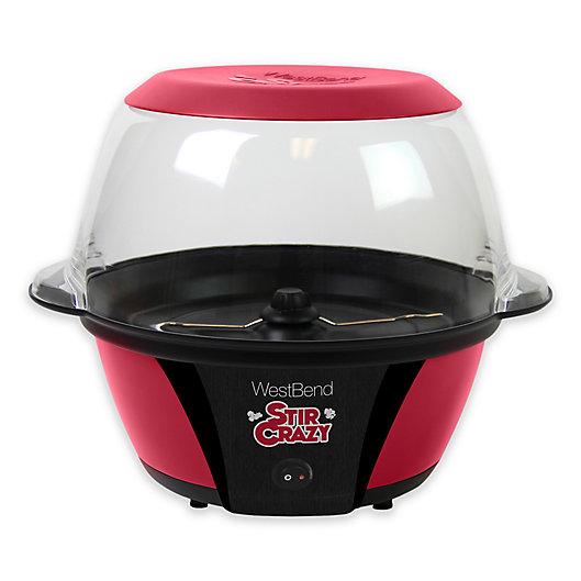 Alternate image 1 for West Bend® Stir Crazy Popcorn Machine in Red