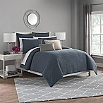Haven Full/Queen Duvet Cover Set in Slate