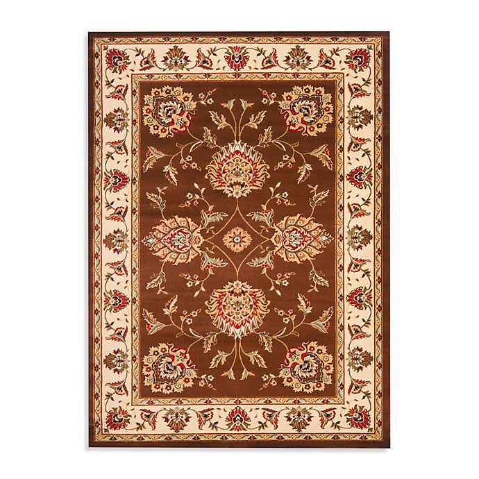 Alternate image 1 for Safavieh Prescott Brown/Ivory Rug