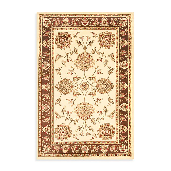 Alternate image 1 for Safavieh Prescott Ivory/Brown 3-Foot 3-Inch x 5-Foot 3-Inch Accent Rug