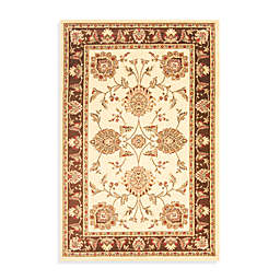 Safavieh Prescott Ivory/Brown 2-Foot 3-Inch x 12-Foot Runner