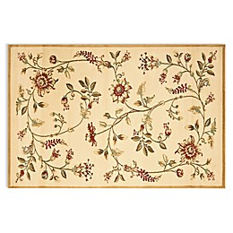 Safavieh Tobin Ivory/Multi 6-Foot 7-Inch x 9-Foot 6-Inch Room Size Rug