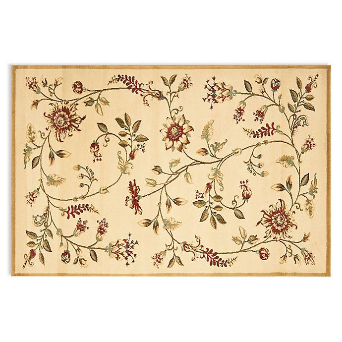 Alternate image 1 for Safavieh Tobin Ivory/Multi 6-Foot 7-Inch x 9-Foot 6-Inch Room Size Rug