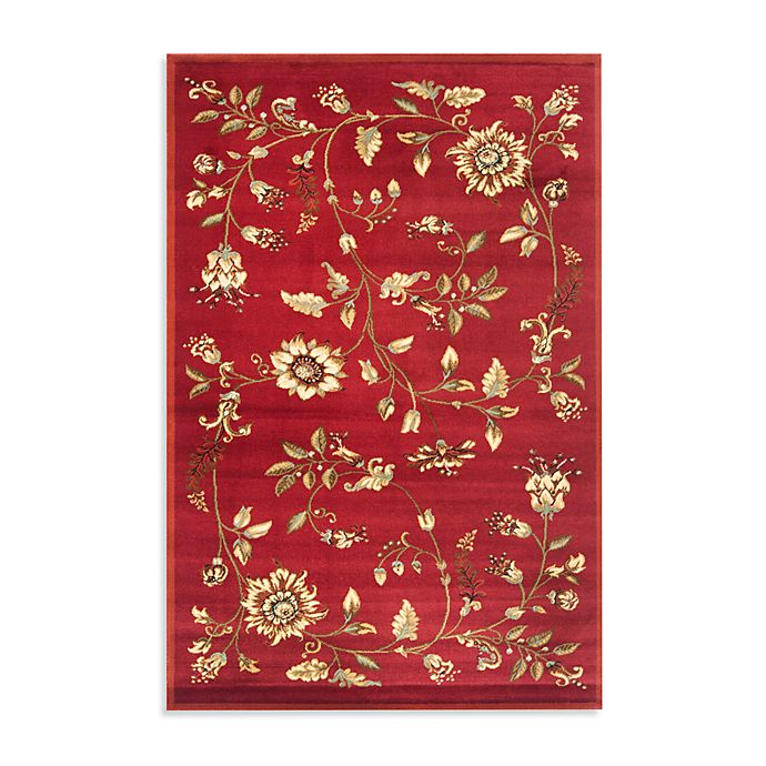 Alternate image 1 for Safavieh Tobin 4-Foot x 6-Foot Accent Rug in Red/Multi