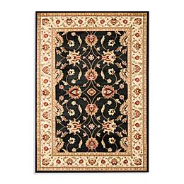 Safavieh Vanity Black/Ivory 6-Foot 7-Inch x 9-Foot 6-Inch Room Size Rug