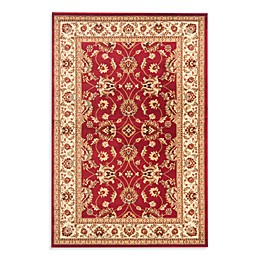 Safavieh Vanity Red/Ivory 2-Foot 3-Inch x 8-Foot Runner