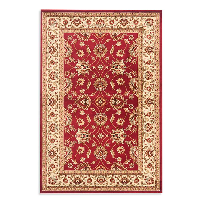 Alternate image 1 for Safavieh Vanity Red/Ivory 3-Foot 3-Inch x 5-Foot 3-Inch Accent Rug