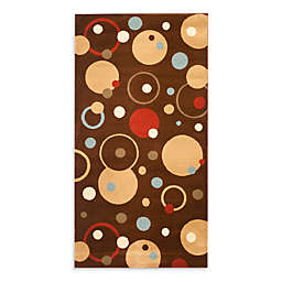 Safavieh Vera Brown/Multi 7-Foot x 7-Foot Rug