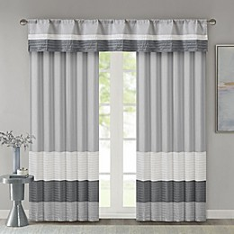 Madison Park Amherst Window Curtain Panel and Valance