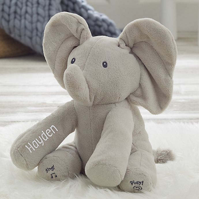 Alternate image 1 for Gund® Personalized Flappy the Elephant