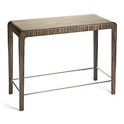 Butler Specialty Company Blach Zebrawood Pub Table