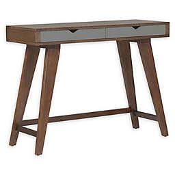 Eurostyle™ Daniel Console Table in Dark Walnut/Grey