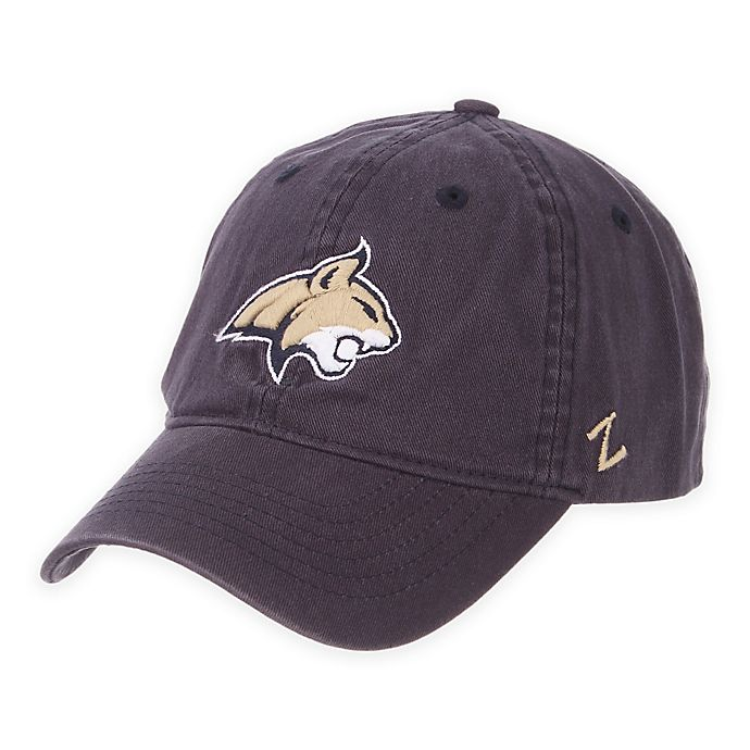Montana State University Washed Unstructured Adjustable Hat | Bed