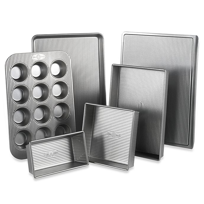 Alternate image 1 for USA Pan Nonstick 6-Piece Bakeware Set