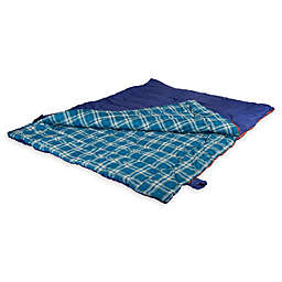Stansport® 2-Person Convertible Sleeping Bag in Blue