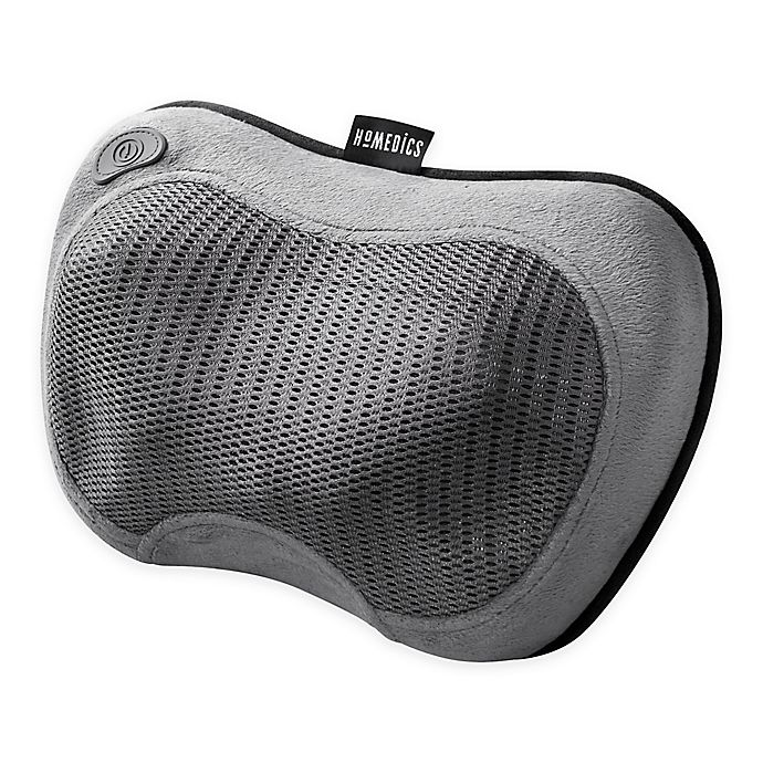 Alternate image 1 for HoMedics® Cordless Shiatsu All Body Massager with HeatRelax in Grey