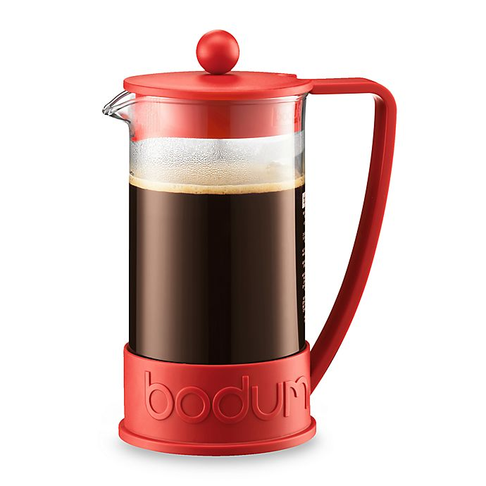 Alternate image 1 for Bodum® Brazil 8-Cup French Coffee Press Triangle Handle