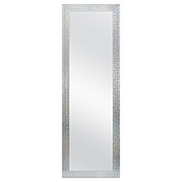 Mosaic Tile 18-Inch x 54-Inch Rectangular Over-the-Door Mirror